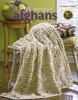 Homespun Afghans (Leisure Arts #4155)