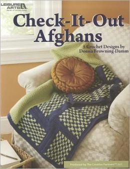 Check It Out Afghans (Leisure Arts #3854)