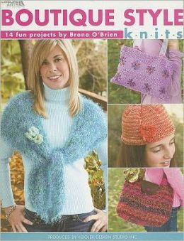 Boutique Style Knits (Leisure Arts #4300)