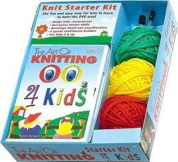 DVD the Art of Knitting 4 Kids Kit