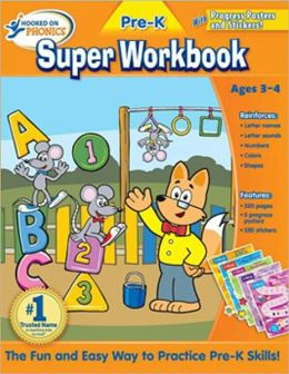 Hooked on Phonics Pre-K Super Workbook
