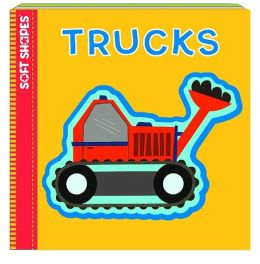 Soft Shapes: Trucks (Baby's First Book + Puzzle)