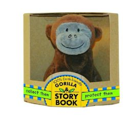 Green Start: Storybook and Plush Box Sets: Little Gorilla - Collect Them and Protect Them!