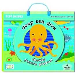 Soft Shapes Chunky Puzzle: Deep Sea Dive: (Foam Puzzle and Playset)