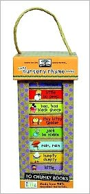 green start book towers: little nursery rhymes (10 Chunky Books Made from 98% Recycled Materials)