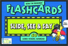 Now I'm Reading!: Slide, See and Say Flashcards Long Vowel Words