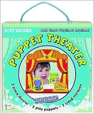 Soft Shapes Puppet Theater Set (Bath Time! Playtime! Anytime!): Foam Theater, Two Foam Puppets and More!