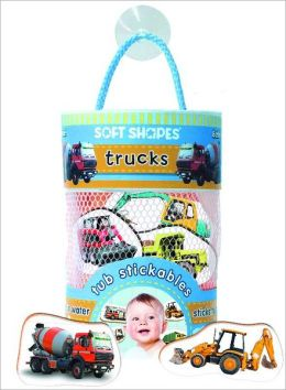 Soft Shapes Tub Stickables: trucks (Photographic Bath Stickers)