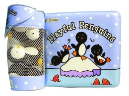 Float Alongs: Playful Penguins (Count-along rhyme floatable bath Book)