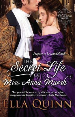 The Secret Life of Miss Anna Marsh (Marriage Game Series #2)