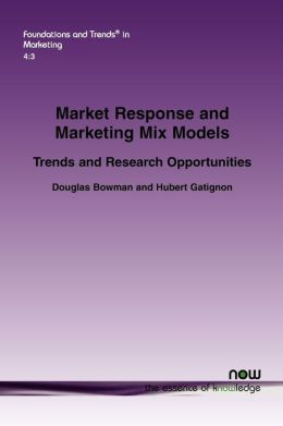 Market Response and Marketing Mix Models
