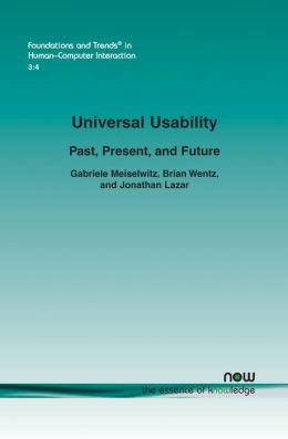 Universal Usability: Past, Present, and Future