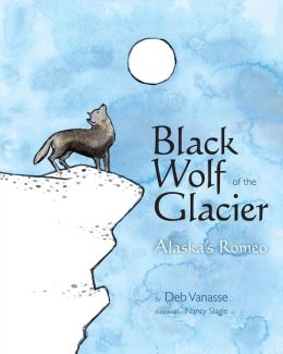 Black Wolf of the Glacier: Alaska's Romeo