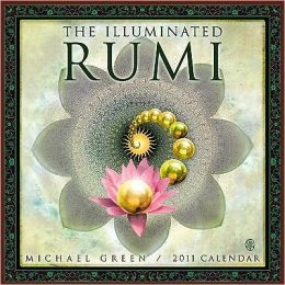 2011 Illuminated Rumi Wall Calendar