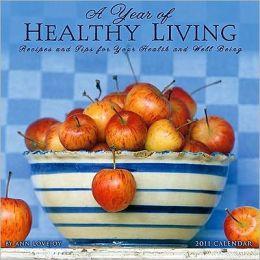 2011 Year of Healthy Living Wall Calendar