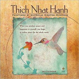2012 Thich Nhat Hanh Mini Calendar