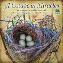 2014 Course in Miracles Wall Calendar
