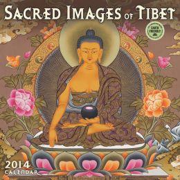 2014 Sacred Images of Tibet Wall Calendar