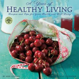 2014 Year of Healthy Living Wall Calendar