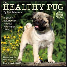 2014 Healthy Pug Wall Calendar