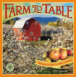 2015 Farm to Table Wall Calendar