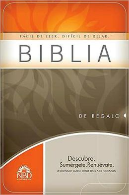 Biblia de regalo y premio NBD