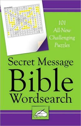 Secret Message Bible Word Search