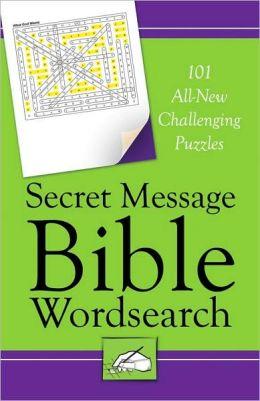 Secret Message Bible Word Search