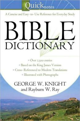 Quicknotes Bible Dictionary