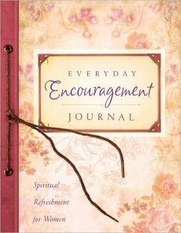 My Everyday Encouragement Journal