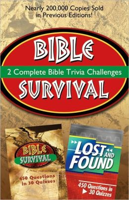 2-in-1 Bible Trivia: Bible Survival and Lost and Found