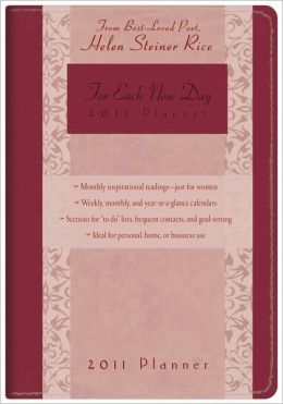For Each New Day 2011 Planner