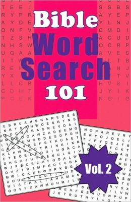 Bible Word Search 101, Vol. 2