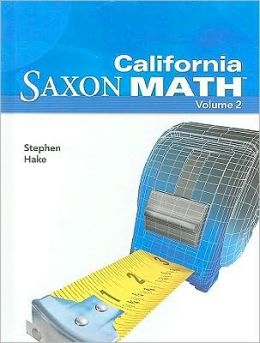 California Saxon Math: Intermediate 5, Volume 2