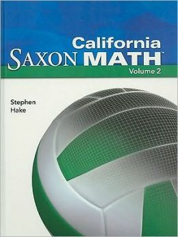 California Saxon Math Intermediate 6, Volume 2