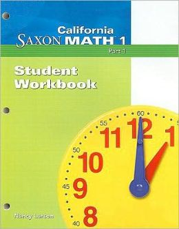 California Saxon Math 1, Part 1
