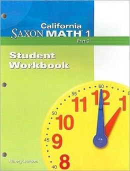 California Saxon Math 1, Part 2
