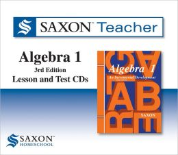 Saxon Algebra 1: Homeschool Teacher Kit Third Edition 2008