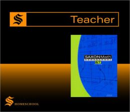 Saxon Math 8/7 Homeschool: Saxon Teacher CD ROM 3rd Edition