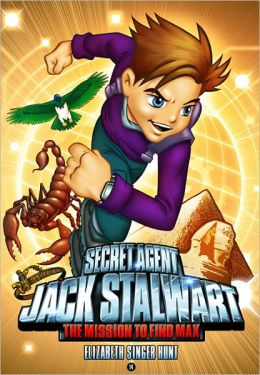 The Mission to Find Max: Egypt (Secret Agent Jack Stalwart Series #14)