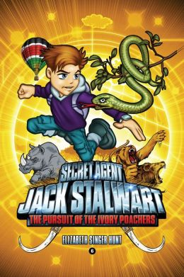 Secret Agent Jack Stalwart: Book 6: The Pursuit of the Ivory Poachers: Kenya