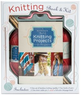 Knitting Book and Kit