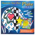 Book Cover Image. Title: Decorate Your Own Plate Book & Kit, Author: Rafaella Dowling