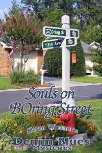 Souls On Boring Street [Book 3 Denin Blues Mystery Trilogy]