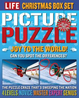 LIFE Picture Puzzle Christmas Box Set