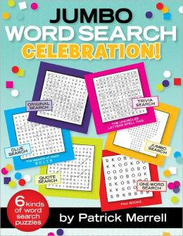 Jumbo Word Search Celebration!