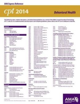 Cpt 2014 express reference coding card cpt amp hcpcs modifiers by