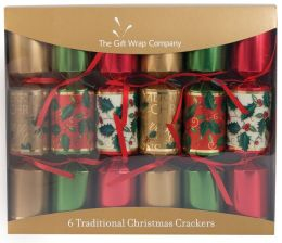 Traditional Crackers - Set Of 6