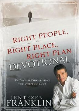 Right People, Right Place, Right Place Devotional