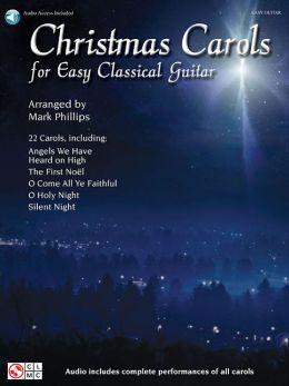 Christmas Carols for Easy Classical Guitar